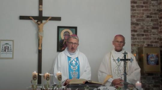 Wizyta Pierwszego Biskupa w Parafii Świętej Trójcy w Warszawie