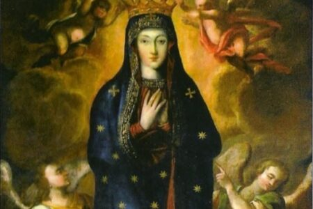 Różaniec w czasie peregrynacji cudownego obrazu Matki Bożej Wniebowziętej