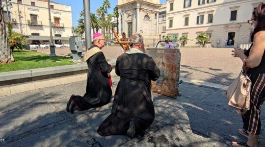 Pielgrzymka z Matką Bożą Wniebowziętą - Matką Dobrego Początku do Pompei - pierwszy etap peregrynacji