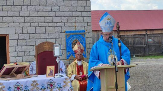 Homilia J.E. Ks Bpa Adama Rośka na uroczystość Wniebowzięcia Matki Bożej - Sanktuarium we Florencji