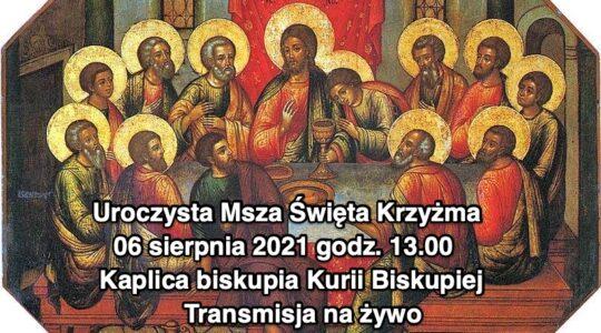 Msza święta Krzyżma - Dzień Kapłański