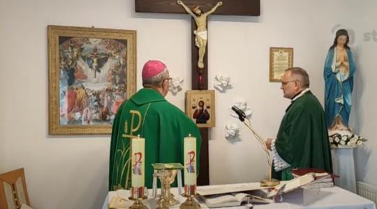 Instalacja kanoniczna nowego Proboszcza Parafii w Wieluniu i poświęcenie kaplicy parafialnej po remoncie.