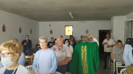 Nowe miejsce kultu w Italii